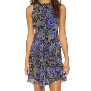 Rebecca Taylor Flame of the Forest Silk Dress 4